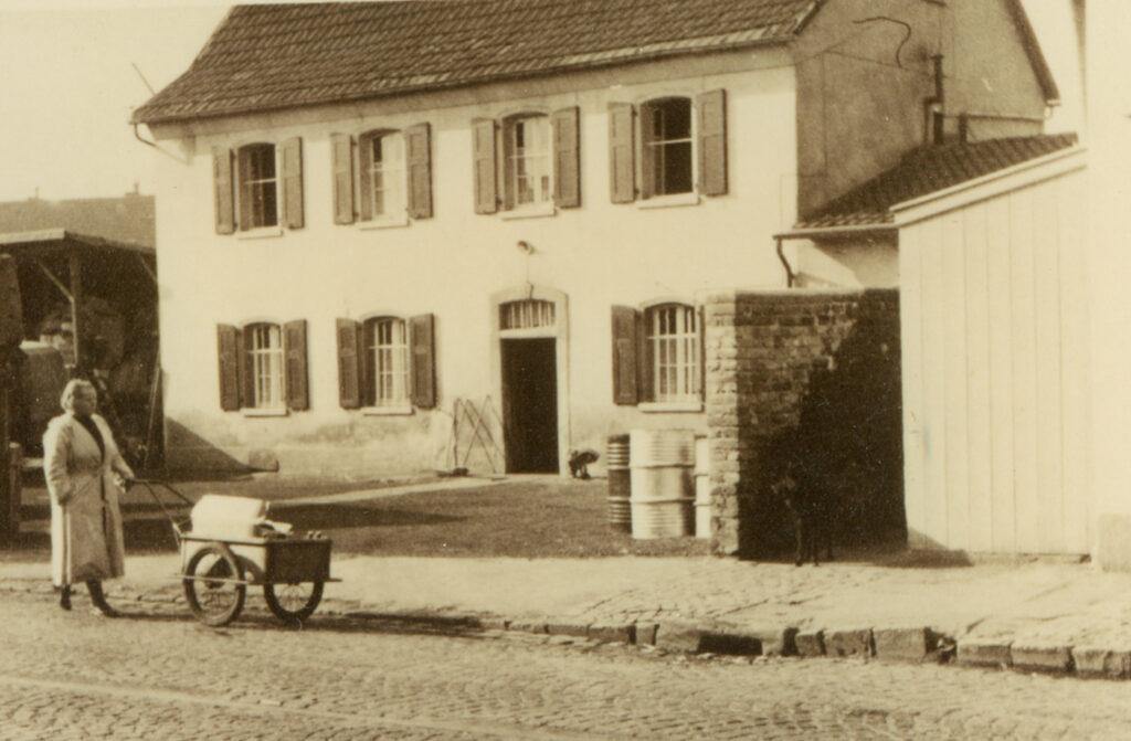 Das Pastoratsgebäude in den 50iger Jahren